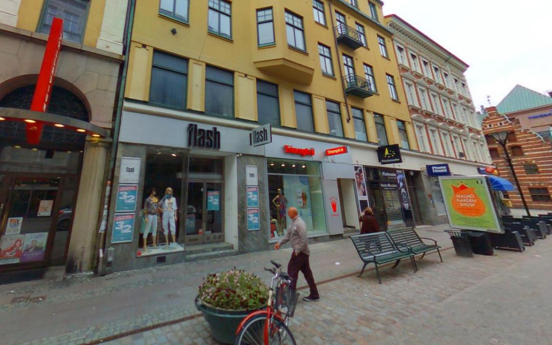 Butikslokal, Södergatan 13 Malmö